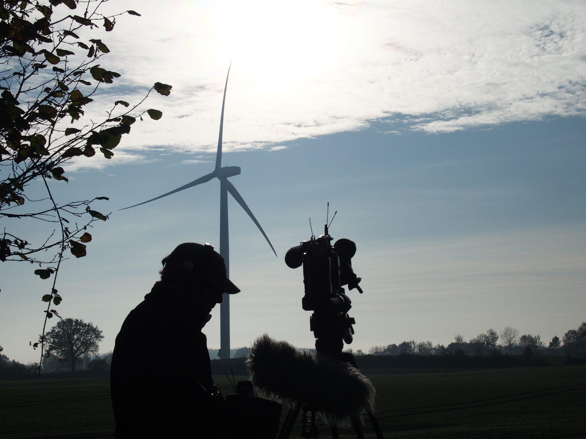 Dreharbeiten für NDR Schleswig-Holstein 18 Uhr