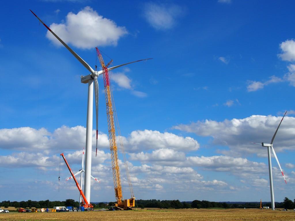 Aufhebung des Baustopps im Windpark Loose