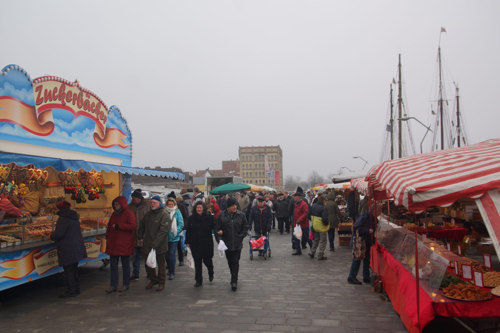 Eckernförde Fischmarkt