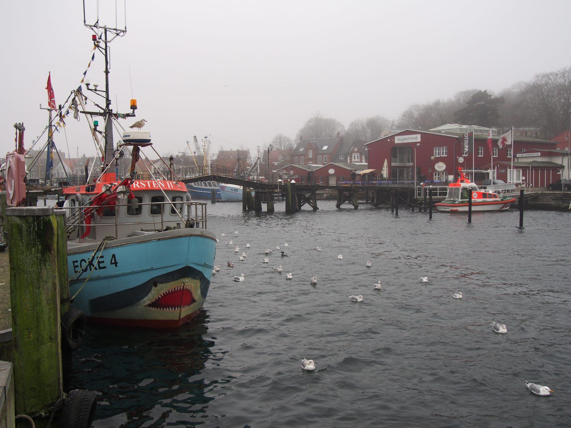 Fischmarkt In Eckernförde