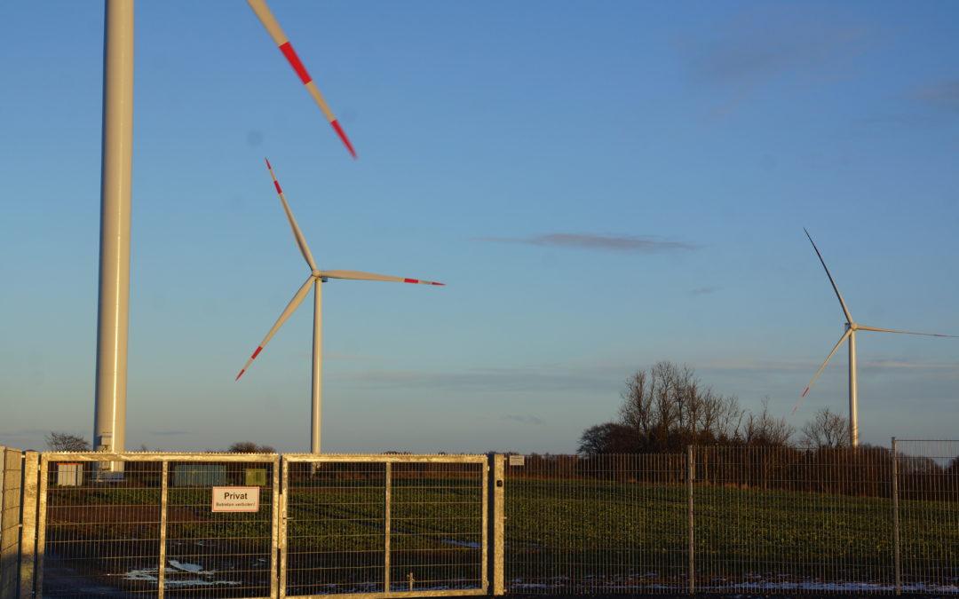 Hochsicherheitstrakt Windpark Loose