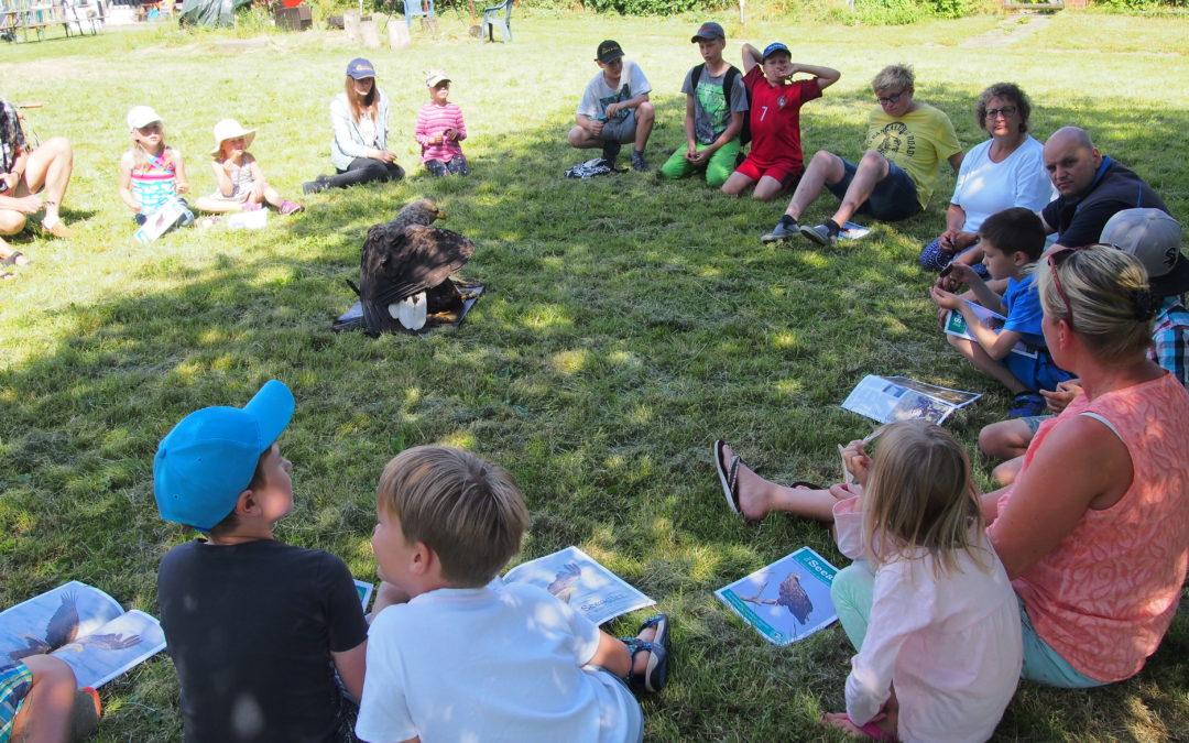 Über 20 Kinder bei erstem Seeadler-Jugendtreffen in Holzdorf am 30. Juni