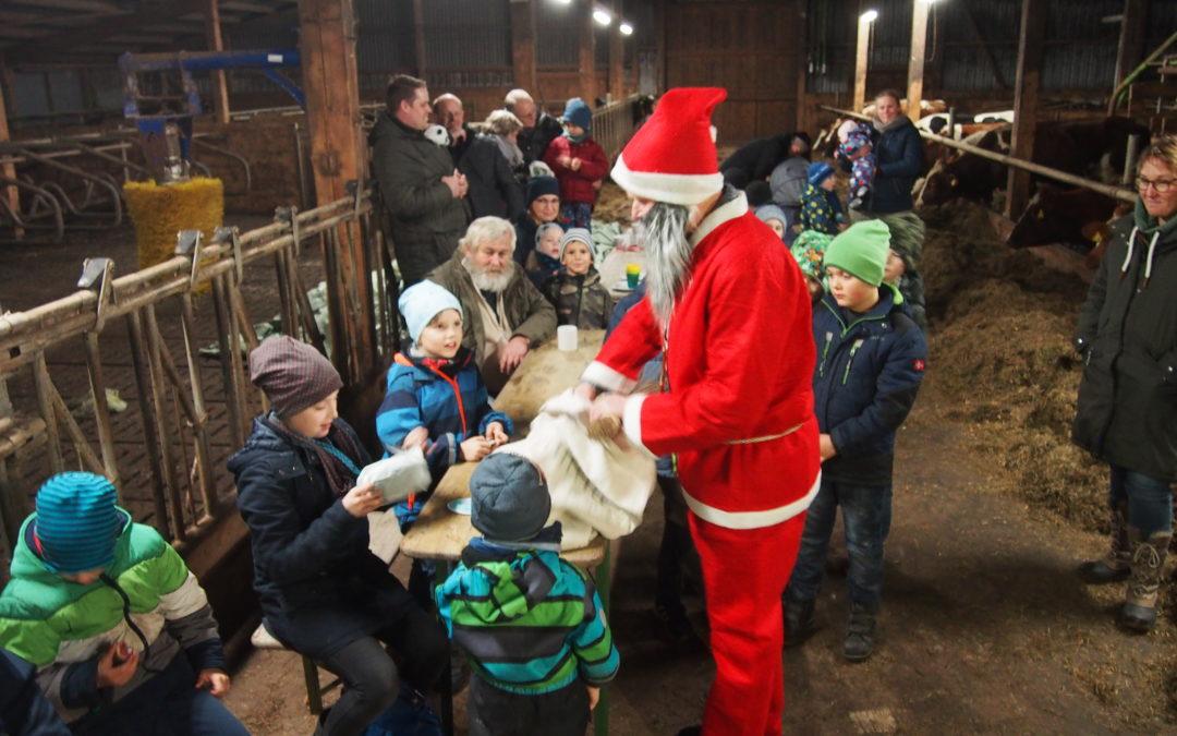Traumhafte Nikolausfeier bei der Seeadlerjugend