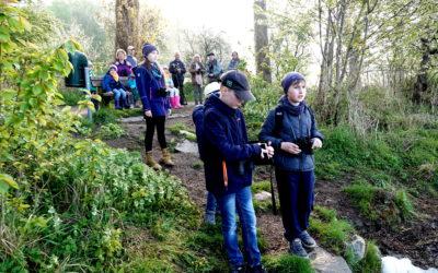 Still sein und lauschen…Jugendgruppe traf sich mit Rüdiger Schwab am Windebyer Noor