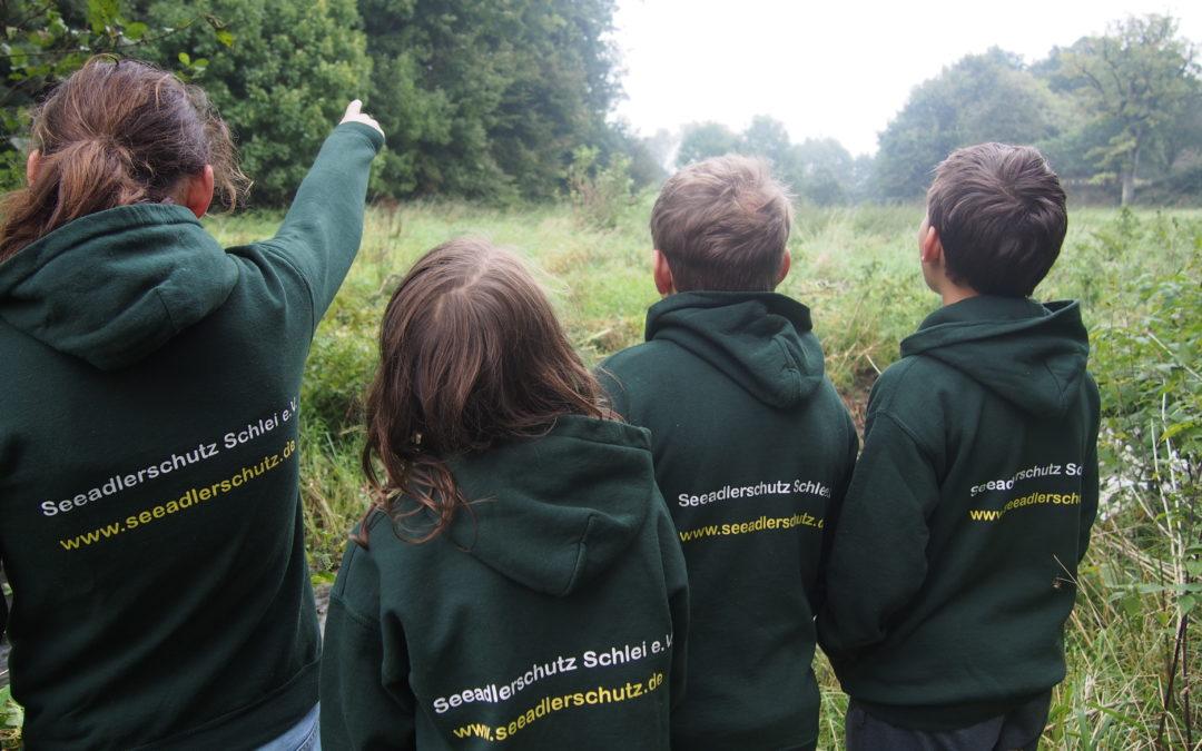 Ausflug mit der Jugendgruppe zum Schwansener See