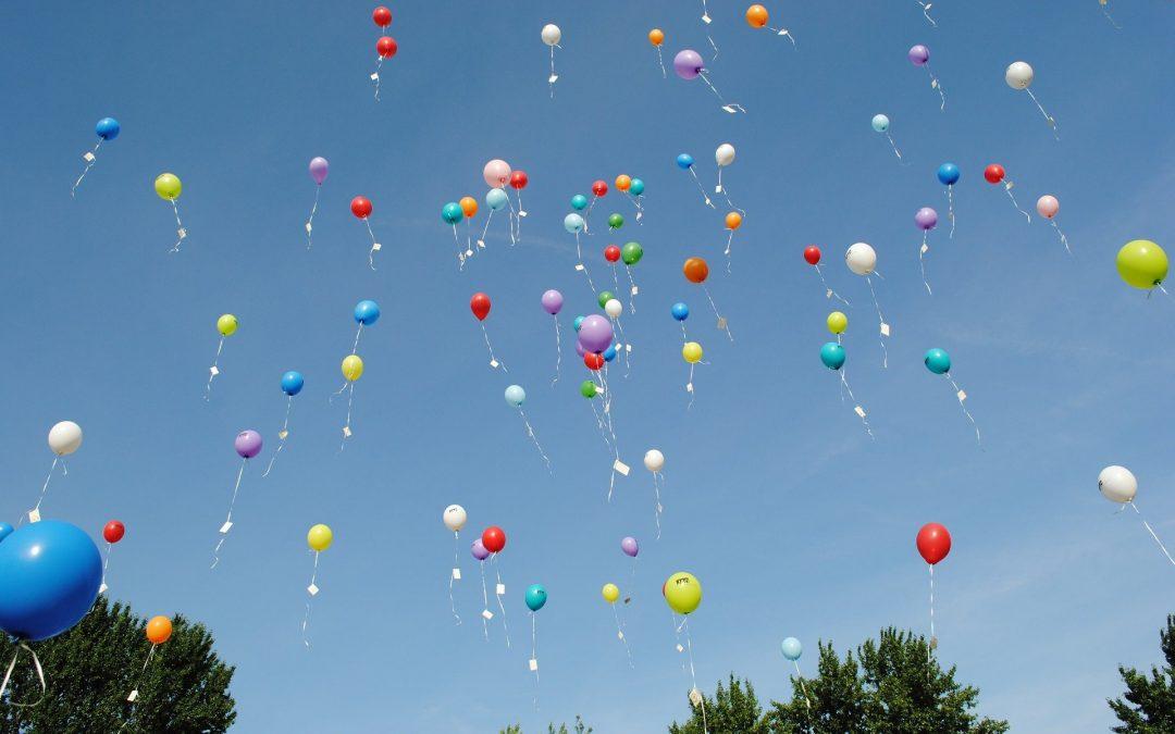 Verzicht auf Luftballonwettbewerbe